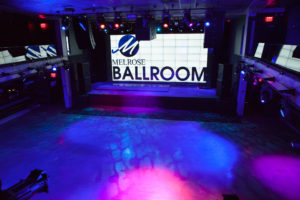 Venue Services - Empty Main Ballroom at Melrose Ballroom